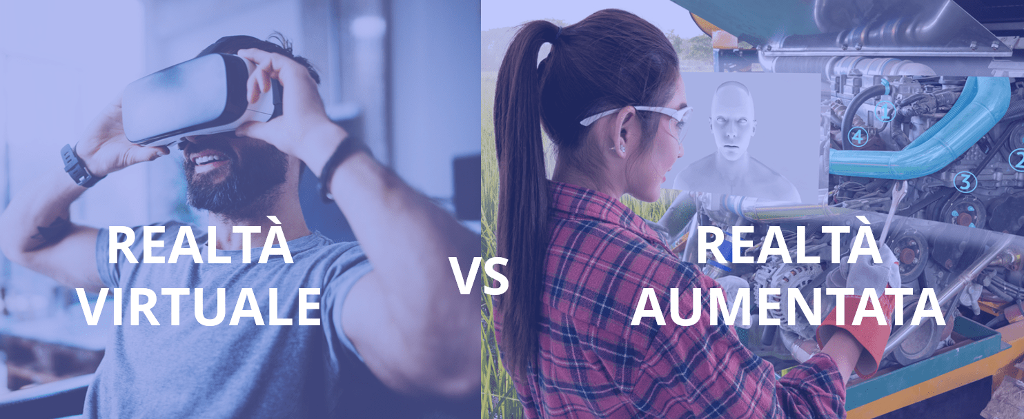 differenza tra realtà virtuale e realtà aumentata
