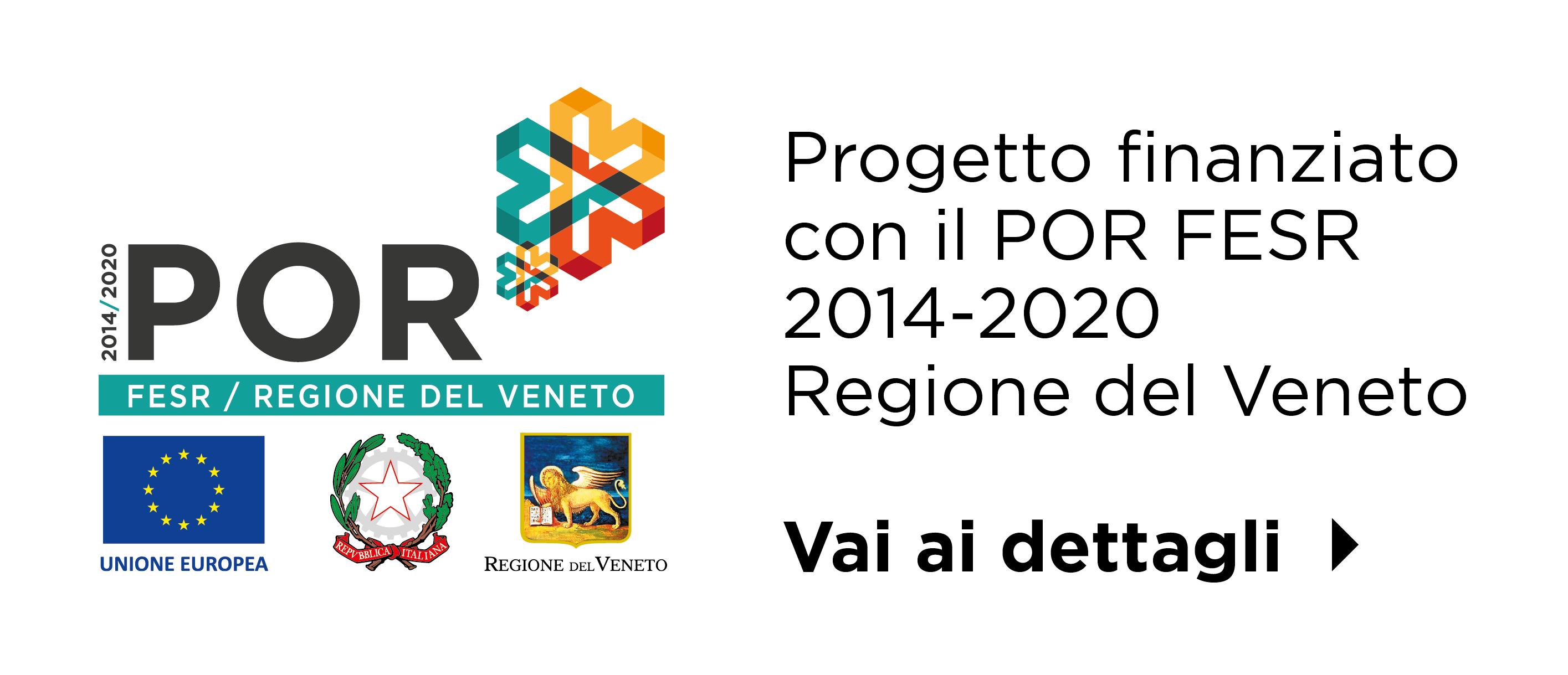 L'azienda ha avuto modo di realizzare tale progetto grazie al sostegno ottenuto dal POR FESR 2014-2020